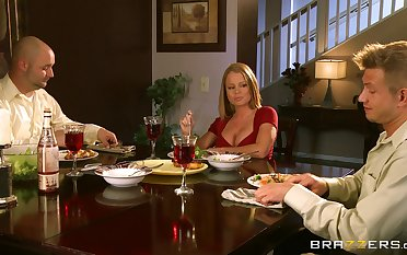 Beauteous wife dreams about her husband's cane friend - Nikki Delano