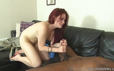 BBC Does White Wife On Couch Make A Deep Sex Innings