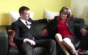 Normal lecherous intercourse with mature lady from great britain