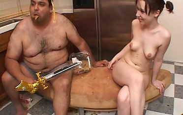 Amateur homemade video of a fat guy fucking sexy Crissy Tyler