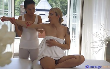 Beautiful Sophia Grace craves for sex added to gets pleasured by Lexi Dona