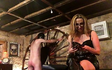 More Fun With Spanky bdsm bondage following femdom domination