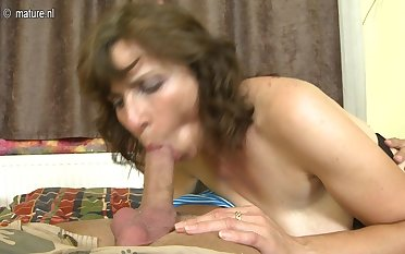 Hairy Housewife Shacking up Her Toy Boy - MatureNL