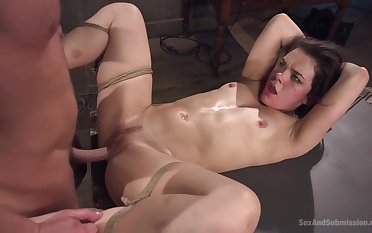 Kimber Woods rough hardcore porn video