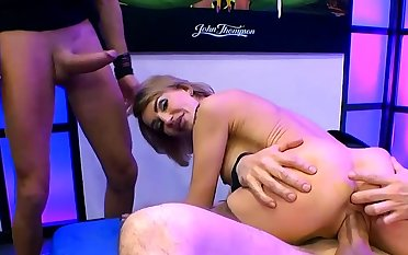 Extreme anal dp and cumhots on fair-haired elen million