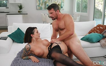 Side fucked and made respecting swallow when hubby is out of town