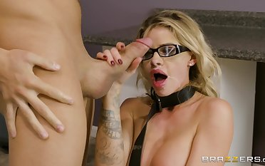 Jessa Rhodes does whatever is asked of will not hear of in the office