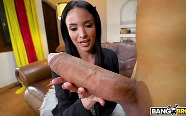Mature star Anissa Kate spreads her legs of a pipeline dick ever
