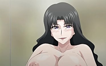 Busty hentai babe makes me oversexed