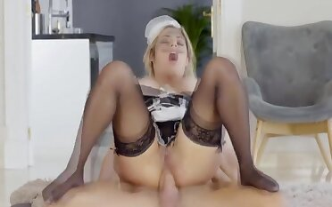 Mia Linz, French Maid Cant Say No