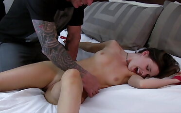 Brooke gets gambol and tickled