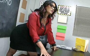Angelina's footjob agglomeration