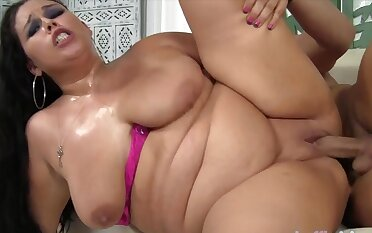 Sexy BBWs enjoy their plump pussies acquiring plowed deep and to one's liking with hard dicks