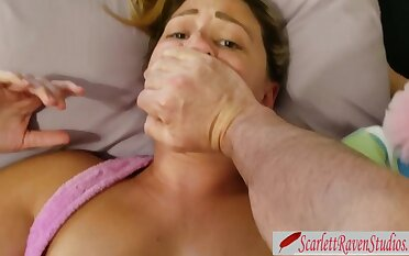 step DAD don't Box in IN ME! DAUGHTER-IN-LAW Porked and Creampied