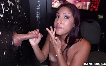 Kinky redhead Sophia Steele moans while riding a stranger's cock