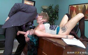 Caning The Secretary