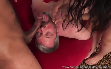 Nadia Ali Gets Pounded By Cock and Makes Husband Eat Cum
