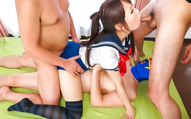 Horny Japanese whore Ai Mizushima in Best JAV uncensored Teen scene