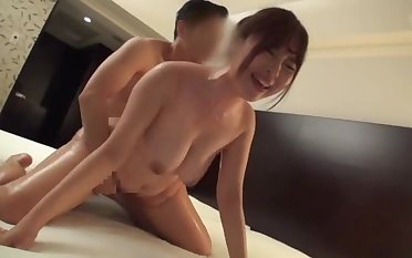 Asian with tight pussy fucked in a hotel room