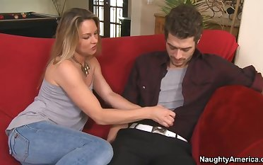 Mommy fucking her son's friend