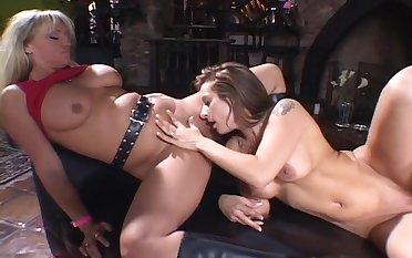 Lesbians Initiating A Undeceitful Girl