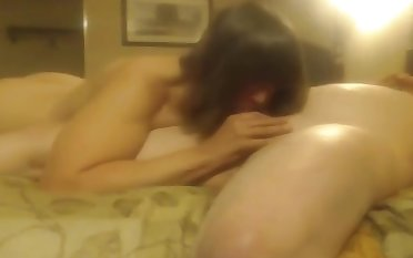 grandpa sucked by a girl