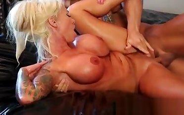 Japanese Nuru Slippery Massage And Blue Fuck On Air Matress 28