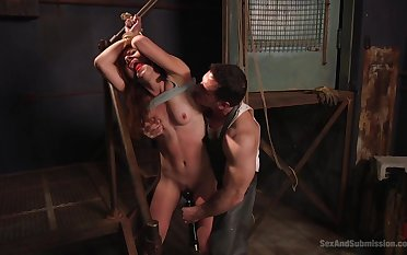 BDSM while she screams from appreciation is fabulous of Audrey Holiday